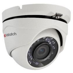 Hikvision DS-T103 (2.8 MM) - Камера видеонаблюденияКамеры видеонаблюдения<br>Сетевая IP-камера, 1Мп уличная купольная HD-TVI камера с ИК-подсветкой до 20м, 1/4quot; CMOS матрица; объектив 2.8мм; угол обзора: 92°; механический ИК-фильтр; 0.1 Лк@F1.2; Smart ИК; видеовыход: переключаемый HD-TVI/CVBS; IP66; -40°С...+60°С; 12В DC±15%, 4Вт макс.