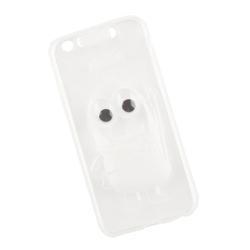 Чехол накладка для Apple iPhone 6, 6s (Liberti Project 0L-00027464) (прозрачный) - Чехол для телефонаЧехлы для мобильных телефонов<br>Силиконовый чехол плотно облегает заднюю крышку телефона и надежно защищает его от пыли и царапин.