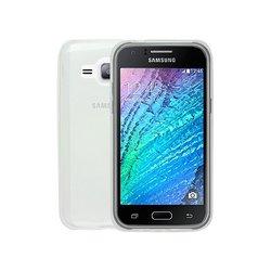 Силиконовый чехол-накладка для Samsung Galaxy J1 2016 (iBox Crystal YT000008221) (прозрачный) - Чехол для телефонаЧехлы для мобильных телефонов<br>Чехол плотно облегает корпус и гарантирует надежную защиту от царапин и потертостей.