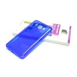 Силиконовый чехол-накладка для Samsung Galaxy J5 2016 (iBox Crystal YT000008555) (синий) - Чехол для телефонаЧехлы для мобильных телефонов<br>Чехол плотно облегает корпус и гарантирует надежную защиту от царапин и потертостей.