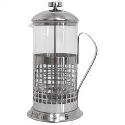 Френч-пресс Mallony B511 (1 л) - Посуда для готовкиПосуда для готовки<br>Френч-пресс: объем 1 л, корпус металлический, стеклянная колба.