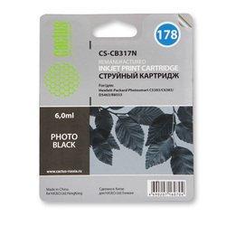 Картридж для HP PhotoSmart Cactus CS-CB317N (фото-черный) - Картридж для принтера, МФУ