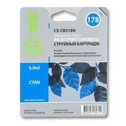 Картридж для HP PhotoSmart Cactus CS-CB318N (синий) - Картридж для принтера, МФУ
