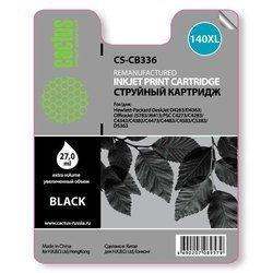 Картридж для HP DeskJet D4263, D4363, OfficeJet J5783, J6413, PSC C4273, C4283, C4343, C4383, C4473, C4483, C4583, C5283, D5363 (Cactus CS-CB336) (черный) - Картридж для принтера, МФУКартриджи<br>Совместим с моделями: HP DeskJet D4263, D4363, OfficeJet J5783, J6413, PSC C4273, C4283, C4343, C4383, C4473, C4483, C4583, C5283, D5363.