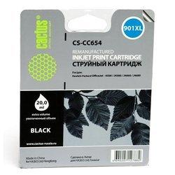 Картридж для HP OfficeJet 4500, J4580, J4660, J4680 Cactus CS-CC654 (черный) - Картридж для принтера, МФУ