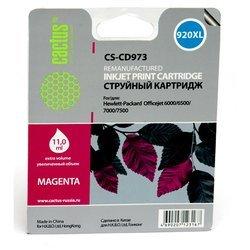 Картридж для HP OfficeJet 6000, 6500, 7000, 7500 Cactus CS-CD973 (пурпурный) - Картридж для принтера, МФУ