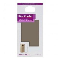 Силиконовый чехол-накладка для Sony Xperia X (iBox Crystal YT000008641) (серый) - Чехол для телефонаЧехлы для мобильных телефонов<br>Чехол плотно облегает корпус и гарантирует надежную защиту от царапин и потертостей.