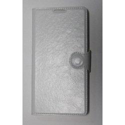 Чехол-книжка для Samsung Galaxy J1 2016 (iBox Crystal YT000008225) (гладкий, белый) - Чехол для телефонаЧехлы для мобильных телефонов<br>Чехол плотно облегает корпус и гарантирует надежную защиту от царапин и потертостей.