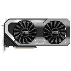 Palit GeForce GTX 1080 1607Mhz PCI-E 3.0 8192Mb 10000Mhz 256 bit DVI HDMI HDCP JetStream RTL