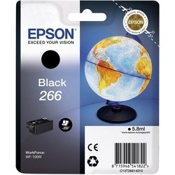 картридж для epson workforce wf-100w (c13t26614010) (черный)