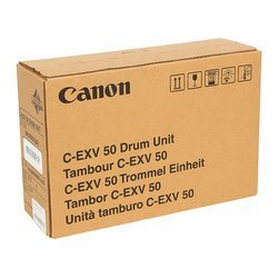 Фотобарабан для Canon imageRUNNER 1435, 1435i, 1435iF (9437B002AA 000 C-EXV50) (черный) - Фотобарабан для принтера, МФУ