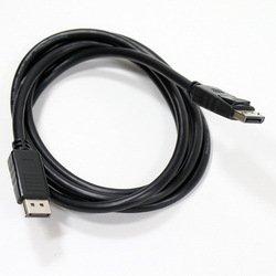 Кабель DisplayPort-DisplayPort (AOPEN ACG591-1.8M) (черный) - Кабель, переходникКабели, шлейфы<br>Разъемы DisplayPort-DisplayPort, версия 1.2V, длина 1.8м.