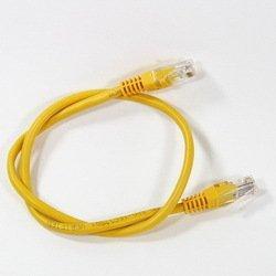 Патч-корд UTP cat5е 5м (AOPEN ANP511_5M_Y) (желтый) - КабельСетевые аксессуары<br>Патч-корд, категория 5е, длина 5м.