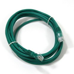 Патч-корд UTP cat5е 3м (AOPEN ANP511_3M_G) (зеленый) - КабельСетевые аксессуары<br>Патч-корд, категория 5е, длина 3м.