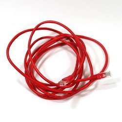 Патч-корд UTP cat5е 3м (AOPEN ANP511_3M_R) (красный) - КабельСетевые аксессуары<br>Патч-корд, категория 5е, длина 3м.