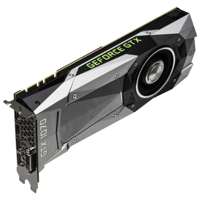 Palit GeForce GTX 1070 1506Mhz PCI-E 3 0 8192Mb 8000Mhz 256 bit DVI HDMI  HDCP