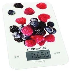 Polaris PKS 0740DG - Кухонные весыКухонные весы<br>Polaris PKS 0740DG - электронные, до 7 кг, точность 1 г, стекло, тарокомпенсация, автовыключение