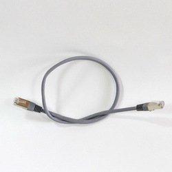Патч-корд FTP cat5e 1м (Telecom NA102-FTP-C5E-1M) (серый) - КабельСетевые аксессуары<br>Литой патч-корд, экранирование FTP, категория 5е, длина 1м.