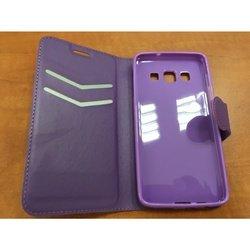 Чехол-книжка для Samsung Galaxy A3 (Red Line Book Type YT000008802) (фиолетовый) - Чехол для телефонаЧехлы для мобильных телефонов<br>Чехол плотно облегает корпус и гарантирует надежную защиту от царапин и потертостей.