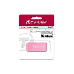 Transcend TS-RDF5R USB 3.0 (розовый) - Картридер, Card Reader