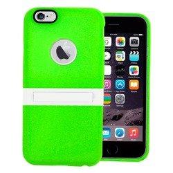 Чехол-накладка с подставкой для Apple Iphone 6 Plus 5,5 (М0945767) (зеленый) - Чехол для телефонаЧехлы для мобильных телефонов<br>Предохраняет смартфон от потертостей и царапин, обеспечивая ему надежную защиту. Подставка делает использование устройства еще более удобным.