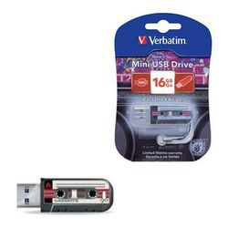 Verbatim Mini Cassette Edition 16Gb (49397) (черный)