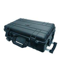 Кейс для инструмента Байкал WRT-22 (черный) - ЯщикЯщики для инструментов<br>Ударопрочный герметичный водонепроницаемый кейс на колесиках с выдвижной усиленной ручкой для хранения и транспортировки инструмента и различного содержимого. Высокая степень износоустойчивости.