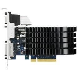 ASUS GeForce GT 730 902Mhz PCI-E 2.0 2048Mb 5010Mhz 64 bit DVI HDMI HDCP Silent (RTL) - ВидеокартаВидеокарты<br>Видеокарта NVIDIA GeForce GT 730,<br>2048 Мб видеопамяти GDDR5,<br>частота ядра/памяти: 902/5010 МГц,<br>разъемы DVI, HDMI, VGA,<br>поддержка DirectX 12, OpenGL 4.4,<br>пассивное охлаждение,<br>работа с 2 мониторами