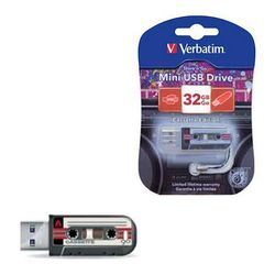 Verbatim Mini Cassette Edition 32Gb (49391) (черный)