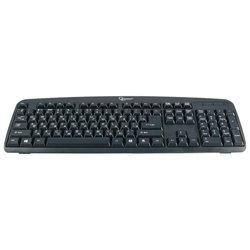 Gembird KB-8350U-BL Black USB - Клавиатура