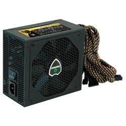 GameMax GM600 Platinum 600W - Блок питанияБлоки питания<br>Блок питания ATX мощностью 600 Вт, стандарт ATX12V 2.3, охлаждение: 1 вентилятор (140 мм), уровень шума 20 дБА, отстегивающиеся кабели, сертификат 80 PLUS Platinum.