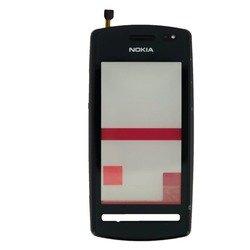 Тачскрин для Nokia 600 в рамке с динамиком (М0942793) (черный) - Тачскрин для мобильного телефонаТачскрины для мобильных телефонов<br>Тачскрин выполнен из высококачественных материалов и идеально подходит для данной модели устройства.