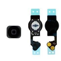 Кнопка Home для Apple iPhone 5 на шлейфе в сборе (черный) (М0038512) - Мелкая запчасть для мобильного телефонаМелкие запчасти для мобильных телефонов<br>Кнопка Home для Apple iPhone 5 изготовлена из высококачественных материалов, она вернет Вашему устройству первоначальный внешний вид.