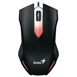 Genius X-G200 Black USB - МышьМыши<br>Genius X-G200 Black USB - мышь, проводная, 1000 dpi, USB, цвет: черный