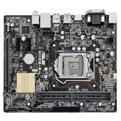 ASUS H110M-R/C/SI BOX - Материнская платаМатеринские платы<br>Материнская плата форм-фактора microATX, сокет LGA1151, чипсет Intel H110, 2 слота DDR4 DIMM, разъемы SATA: 6 Гбит/с - 4.