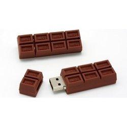 Носитель информации USB 2.0 8GB (10506) (шоколадка) - USB Flash driveUSB Flash drive<br>Флеш-накопитель объемом 8 Гб, интерфейс USB 2.0, корпус стилизован под игрушечный шоколадный батончик.