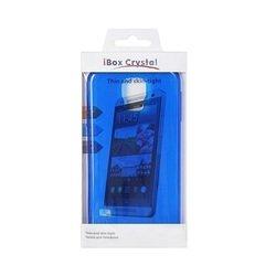 Силиконовый чехол-накладка для LG X Power (iBox Crystal YT000009100) (синий) - Чехол для телефонаЧехлы для мобильных телефонов<br>Чехол плотно облегает корпус и гарантирует надежную защиту от царапин и потертостей.