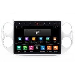 ACV AD-5016S - АвтомагнитолаАвтомагнитолы<br>ACV AD-5016S - штатное головное устройство для автомобилей Volkswagen Tiguan, Volkswagen Touran. Android 4.4.2, двухядерный процессор TELECHIPS 8935 1.6ГГц, 1024x600 сенсорный экран, макс. выходная мощность: 4 х 80 Вт/2Ом 14,4В, 1кГц, 10%, 4 х 45 Вт/4Ом 14,4В, 1кГц, 10%. Воспроизводимые форматы: MP3, AAC, OGG, FLAC, APE, WAV, AVI, 3GP/MP4, MOV, MPG, VOB, MKV, FLV. Радио-диапазон частот: FM 87.5MHz-108.0МГц, AM 522-1620kГц.
