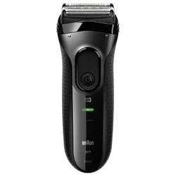 Braun 3020s Series 3 B3CM (черный) - Электробритва мужскаяЭлектробритвы мужские<br>Электробритва - сеточная система бритья, сухое бритье, работает и от сети и аккумулятора, время автономной работы до 50 мин
