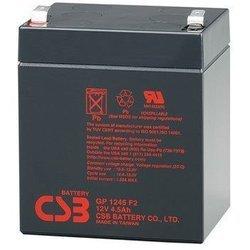 CSB GP1245 - Батарея для ибпАккумуляторные батареи<br>Аккумуляторная батарея для ИБП, ёмкость: 4.5 Ач, клеммы типа: F1/F2-Faston, 108х70х93мм, 1.66кг.