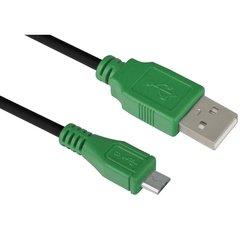 Кабель интерфейсный USB 2.0 USB (m) - microUSB 5pin 0.75 m (GCR-UA1MCB1-BB2S-0.75m) - Кабель, переходник