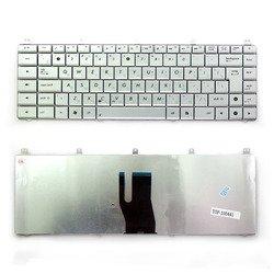 Клавиатура для ноутбука Asus N45, N45S, N45SF (TOP-100441) (серебристая) - Клавиатура для ноутбукаКлавиатуры для ноутбуков<br>Клавиатура легко устанавливается и идеально подойдет для Вашего ноутбука. Русифицированная. Совместима с моделями: Asus N45, N45S, N45SF.