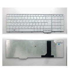 Клавиатура для ноутбука Fujitsu-Siemens Amilo Xa3530, Pi3625, Li3910, Xi3650 (TOP-100504) (белая) - Клавиатура для ноутбука