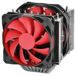 Deepcool ASSASSIN II RTL - Кулер, охлаждениеКулеры и системы охлаждения<br>Для процессора, socket AM2, AM2+, AM3/AM3+/FM1, FM2/FM2+, S775, S1150/S1155/S1156, S1356/S1366, S2011, 2 вентилятора (140 мм, 300-1400 об/мин), радиатор: алюминий+медь, 27.3 дБ.