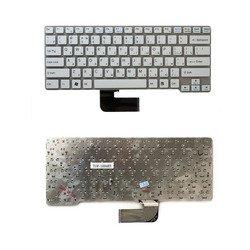 Клавиатура для ноутбука Sony Vaio VPC-CW, VPCCW, VPC-CW1E1R/BU (TOP-100483) (белая, без рамки) - Клавиатура для ноутбука