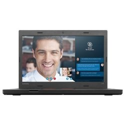 "lenovo thinkpad l460 (intel core i5 6200u mhz/14""/1920x1080/4gb/508gb/dvd нет/intel hd graphics 520/wi-fi/bluetooth/win 7 pro 64)"
