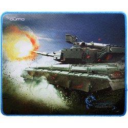 Коврик для мыши QUMO Dragon War Tank - Коврик для компьютерной мышиКоврики для мышей<br>Коврик для мыши размером 280х230х3. Материал поверхности: ткань, материал основания: резиновая основа, толщина 3 мм. Высокая износостойкость.