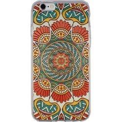 Силиконовый чехол-накладка для Apple iPhone 6, 6S (iBox Fashion YT000009222) (дизайн №135) - Чехол для телефона  - купить со скидкой