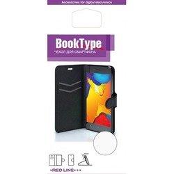 Чехол-книжка для Microsoft Lumia 640 XL (Red Line Book Type YT000008914) (черный) - Чехол для телефонаЧехлы для мобильных телефонов<br>Чехол плотно облегает корпус и гарантирует надежную защиту от царапин и потертостей.