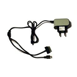 KS-is Qich KS-168 (черный) - Сетевое зарядное устройствоСетевые зарядные устройства<br>Сетевое зарядное устройство, оснащено разъемами microUSB и Samsung 30pin. Выходной ток 2000мА.